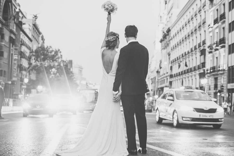 fotomontaje de star wars en una foto de boda