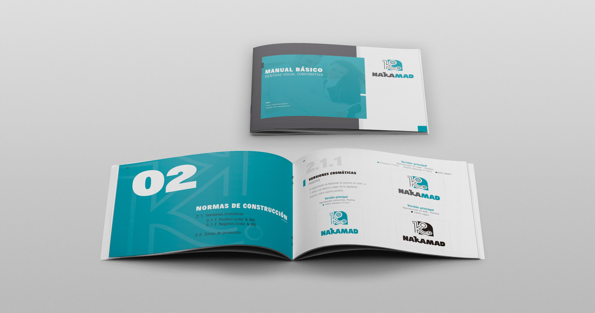 Manual de identidad visual corporativa: Nakamad