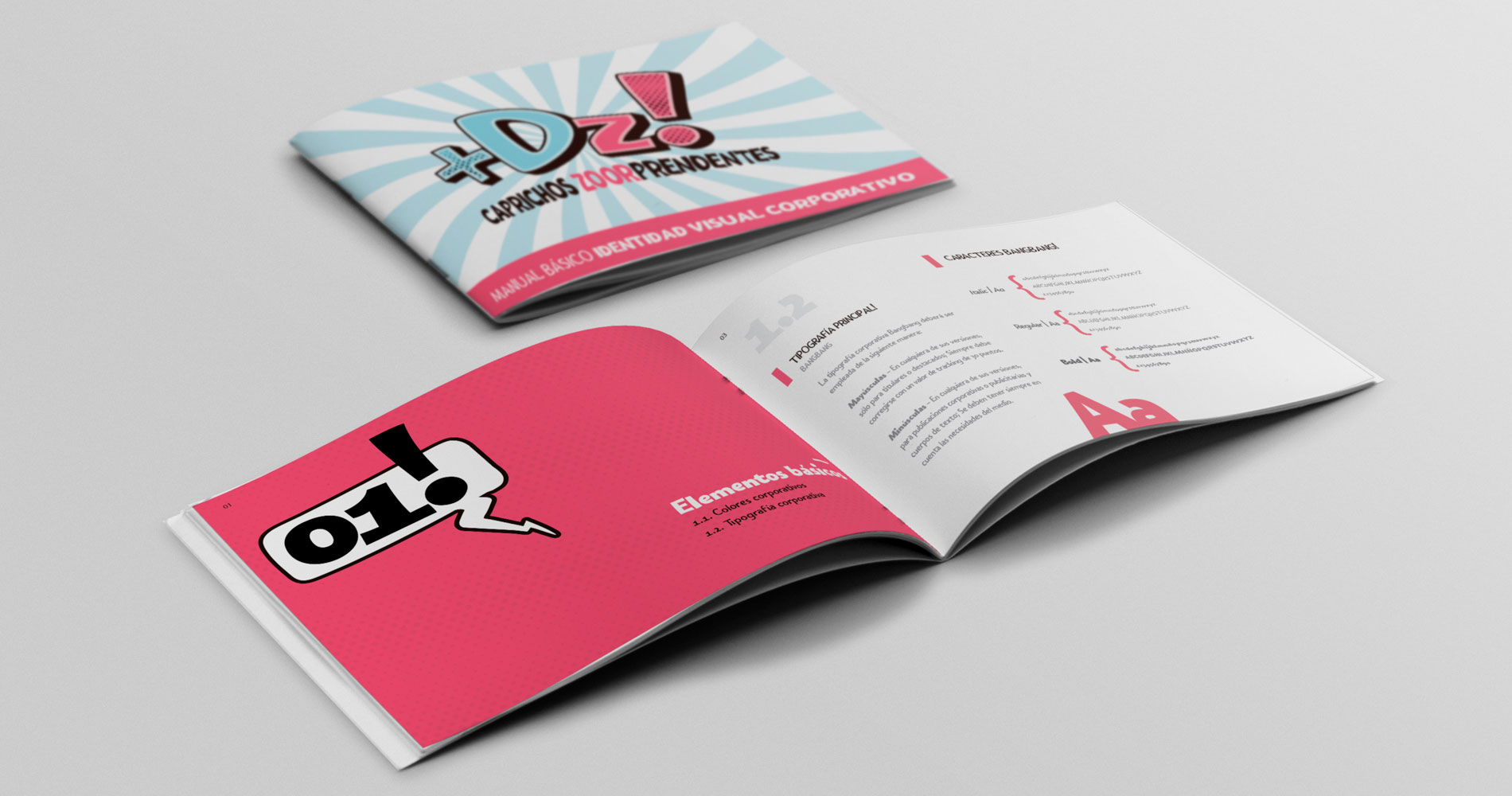 Identidad visual corporativa +DZ | branding